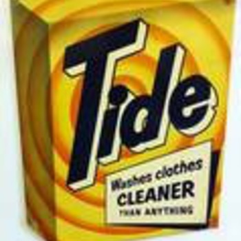 Tide advertising metal - Advertising