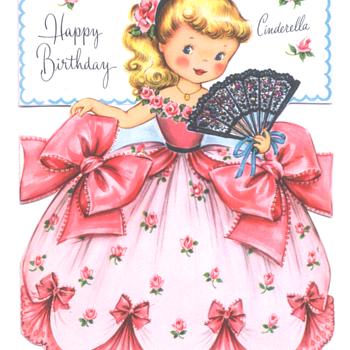 Cinderella | Fairfield Birthday Story Card