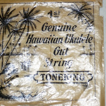 Genuine Hawaiian Ukulele Gut String - Toneking - Musical Instruments
