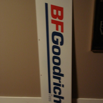 VINTAGE TIRE ADVERTISING SIGNS BF GOODRICH/MICHELIN/GOOD YEAR!