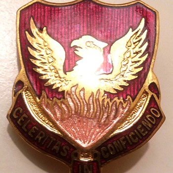 WW2 39th Field Artillery Regiment DUI - Military and Wartime