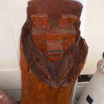 Bear wood carving - Folk Art