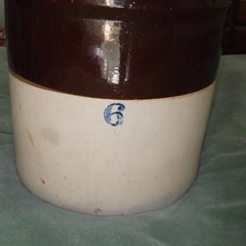 Large Ceramic Crock - China and Dinnerware