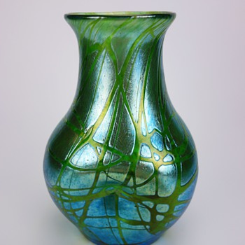 Loetz Crete Pampas Vase - Art Glass