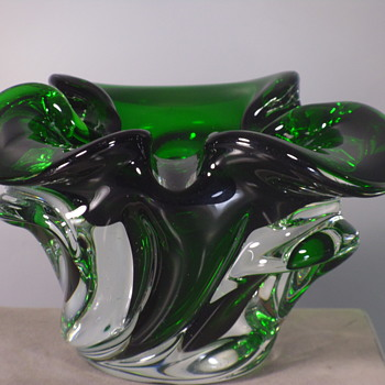 "Ashtray / Bowl - Josef Michael Hospodka - 6"" - Art Glass"