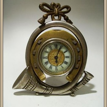 My other 19th Century Clock - Brass  ( Made June 20th, 1867 ) - Clocks