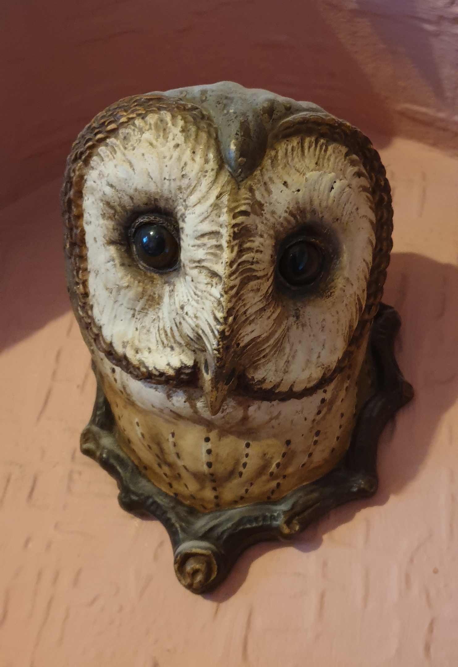 Antique Ceramic Owl Wall ornament | Collectors Weekly