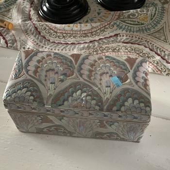 Frederick Cooper Porcelain Box  - Furniture