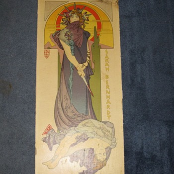 Alphonse Maria Mucha Medee Poster Art Nouveau Original? Lithograph? - Posters and Prints