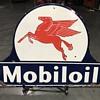 Mobiloil Pegasus  sign 4ft