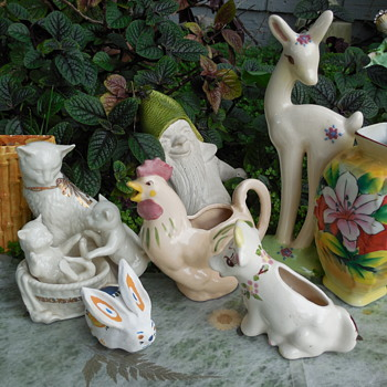A Vintage Pottery Selection For Spring and Easter  :^) - Pottery
