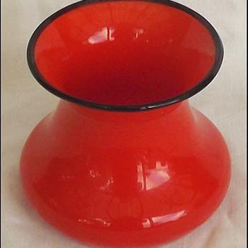 Little Loetz ? Tango Vase  - Art Glass