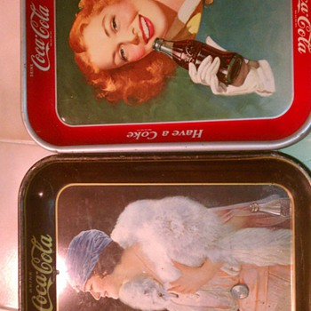 5 Mixed Coca Cola Trays - Coca-Cola