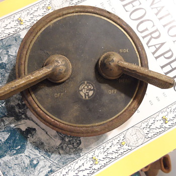 Possible Antique Car Ignition Switch Panel