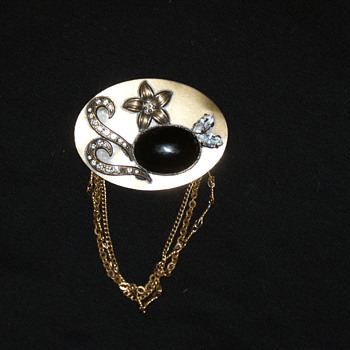 Mystery Brooch - Costume Jewelry