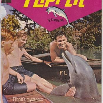 Flipper #2 Gold Key Comic Book 1966 - Comic Books
