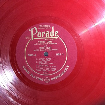 It's a  parade  - Records