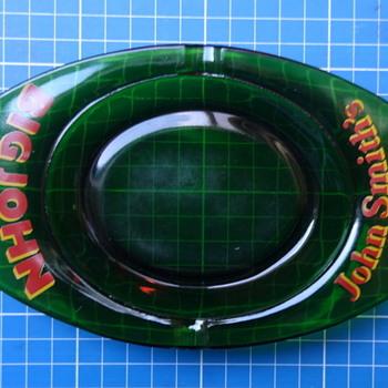 John Smith's 'Big John' bitter glass ashtray.  - Breweriana