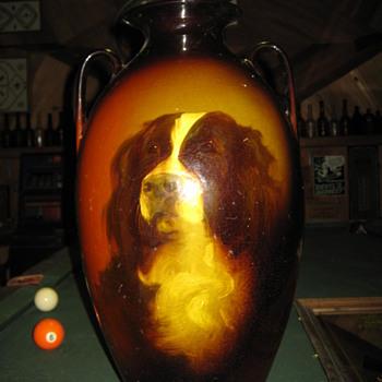 ROSEVILLE FLOOR VASE - Pottery