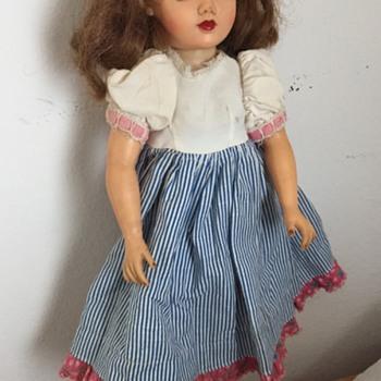 Vintage Ideal Miss Revlon VT 18 Multi Color Eyed Doll