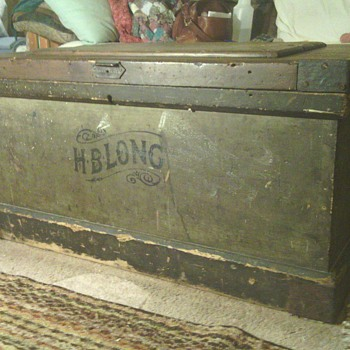 17th century tool chest.my gr,gr,gr. grand father made this in pa.