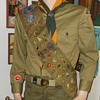 Vintage Boy Scout Sash With Merit Badges and Pins 1954