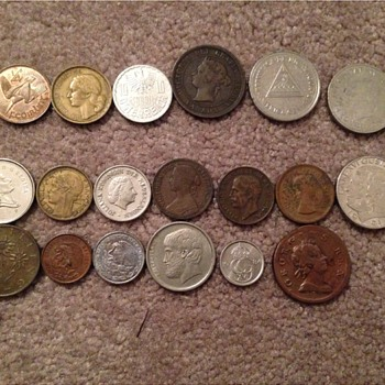 Foreign Coin Collection - World Coins