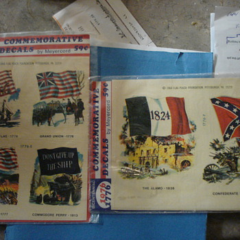 1968 War/Confederate decals - Military and Wartime