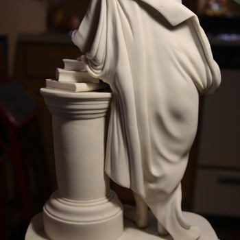 Parian Figure Who Needs a Hand... - Pottery