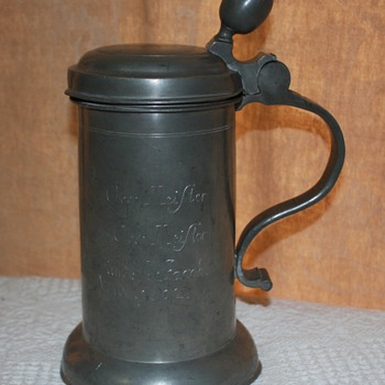 1802 GERMAN BEER STEIN - Breweriana