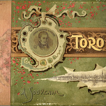 1891 Souvenir Photo Book of  Toronto - Books