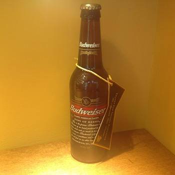 Budweiser bottle  - Bottles