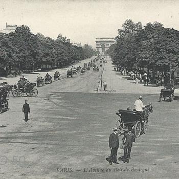 PARIS. - L'AVENUE DU BOIS DE BOULOGNE - Postcards