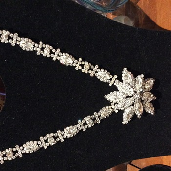A New Stunning SHERMAN Necklace Find - Costume Jewelry