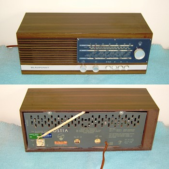 Blaupunkt, model Ostia ca. 1970 - Radios