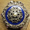 Exquisite French Circa 1800's pocketwatch silver case.