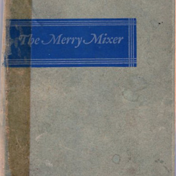 "The ""Merry Mixer"" Post Prohibition Drinks book - Books"