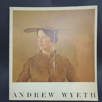 Andrew Wyeth 1966 Pennsylvania Academy of Fine Arts Abercrombie and Fitch Book