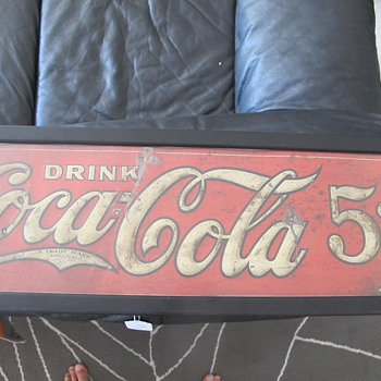 Yet Another 5 Cent Sign - Coca-Cola