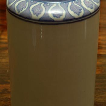 Belleek Vases 1908 Artist Signed - Pottery
