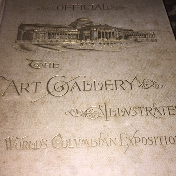 1893 World Colombian Art Gallery Book  - Books