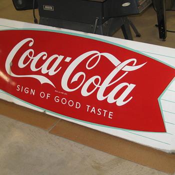 Coca-Cola sled fish type !959-1960 - Coca-Cola