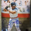 Unknown baseball player signed photograph #2