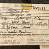My Great Aunt Martha's Driver's License
