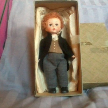 Alexander-kin by Madame Alexander, Curly Red Head Groom'54-'55 - Dolls