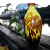 Delatte Nancy France cameo glass vase