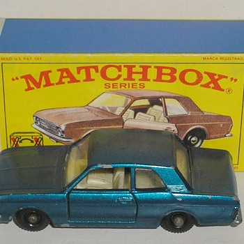 Ford Cortina - Model Cars