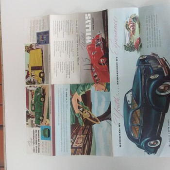 1940 Willys  Car Brochure - Classic Cars