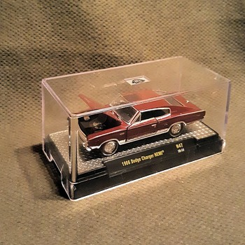 M2 Machines 1/64 Scale 1966 Dodge Charger Hemi - Model Cars