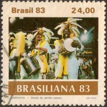 "1983 - Brazil ""Carnivale"" Postage Stamps"